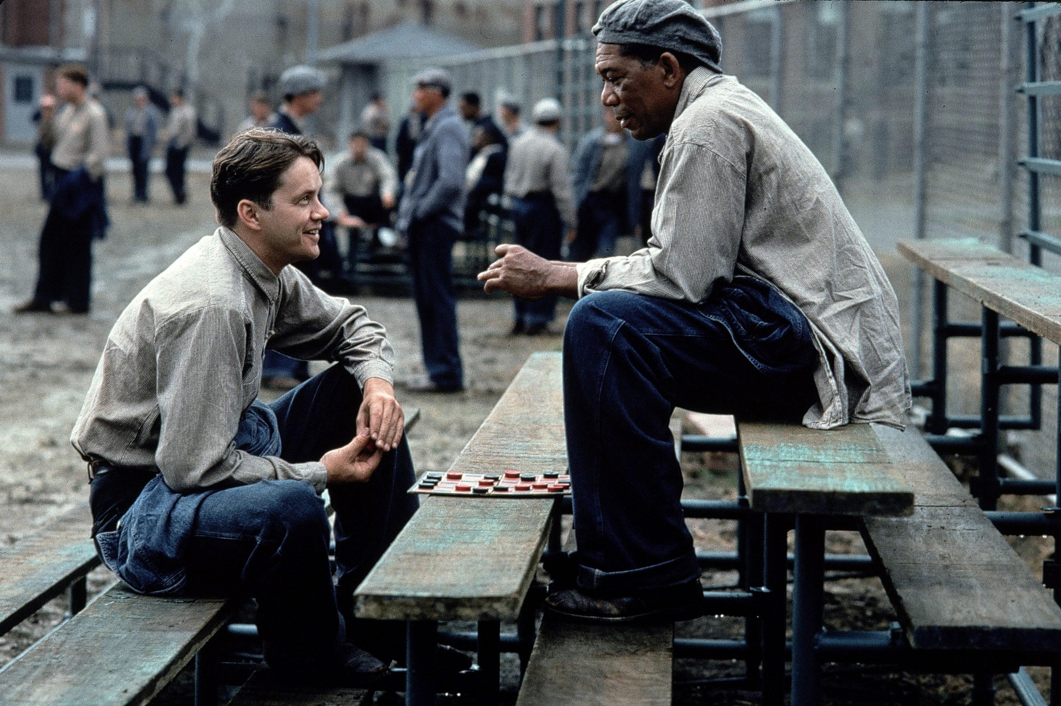 And ve Red'in hapishanede yaptığı keyifli sohbetlerden biri.
