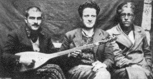 Kemal Tahir ve Nazım Hikmet'in birlikte geçirdiği hapishane yıllarından bir fotoğraf.