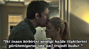 Gone Girl filmi, David Fincher en iyi filmleri içerisinde gösterilir.