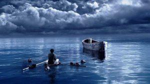 Life of Pi, Pasifik'te yalnız kalan bir çocuğun hayatta kalma mücadelesine odaklanır.