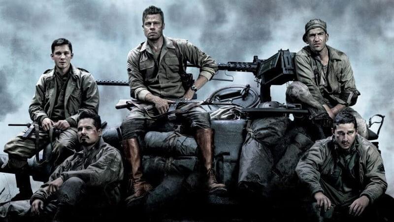 Fury filmi konusu itibariyle 2. Dünya Savaşı'nın son dönemlerine odaklanır.
